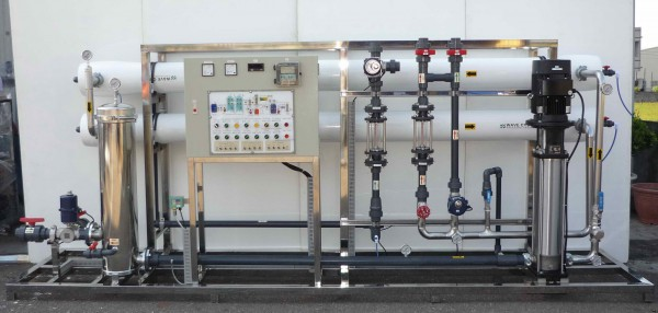 تصفیه آب ، تصفیه نیمه صنعتی ، آب شیرین کن ، آب شیرین کن صنعتی ، اسمز معکوس